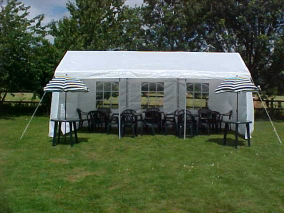 13ft x 20ft Marquee - R Marquee Hire - R Leisure Hire Ltd - 01524 733540